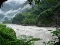 Salween between Gongshan and Fugong.